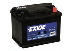 аккумулятор EXIDE CLASSIC