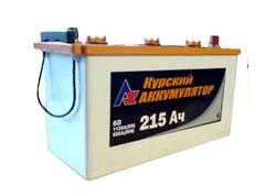 Аккумулятор Курск 6СТ-215А