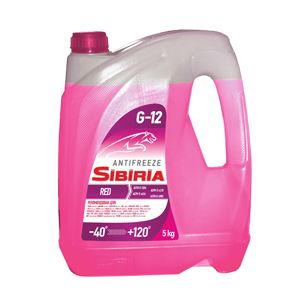 Антифриз SIBIRIA G-12 ANTIFREEZE
