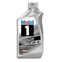 Mobil 1 Synthetic 0W-40