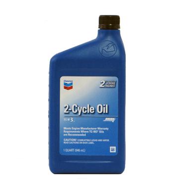 Chevron 2-Cycle Oil TC-W3