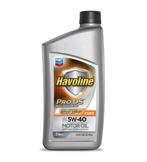 Chevron Havoline Pro DS Full Synthetic Euro 5W-40