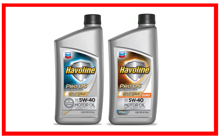 Chevron Havoline Pro DS Synthetic 5W-40