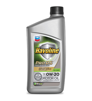 Chevron Havoline Pro DS Full Synthetic 0W-20