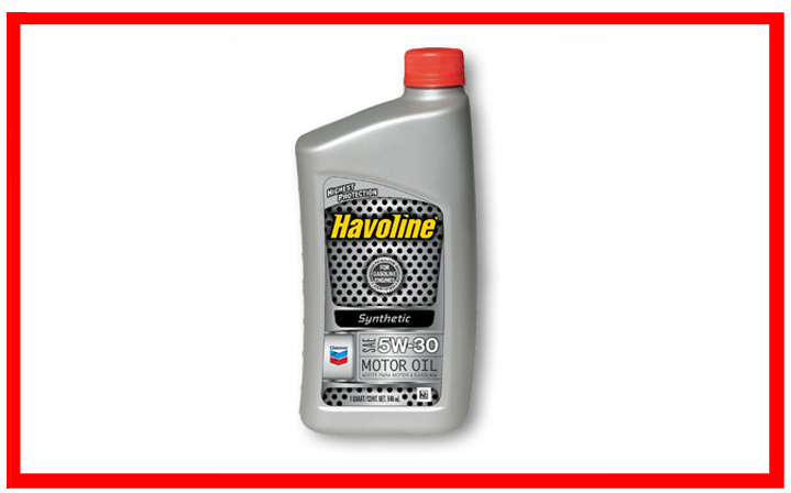 Chevron - Havoline Synthetic SAE 0W-20, 5W-20, 5W-30, 5W-40, 10W-30