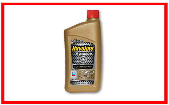 Chevron - Havoline Synthetic Blend SAE 5W-30
