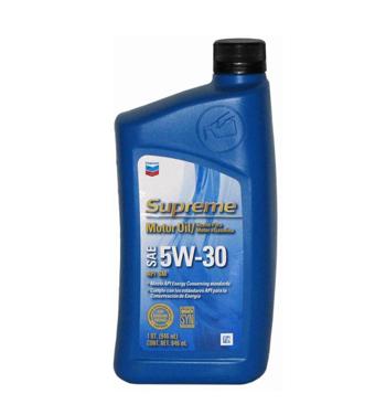CHEVRON SUPREME 5W-30