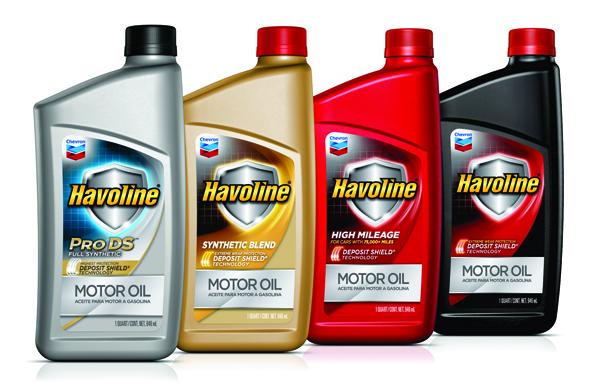 Chevron: Havoline® подвергнется рестайлингу визуальных атрибутов