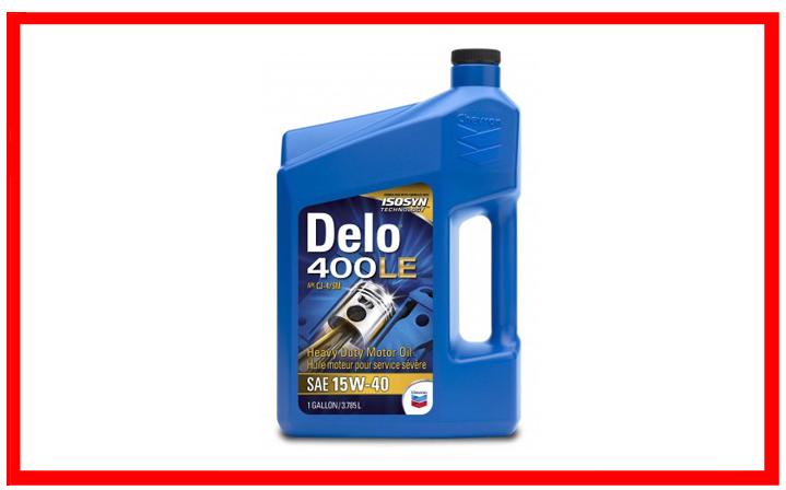 Chevron - DELO 400 LE SAE 15W-40