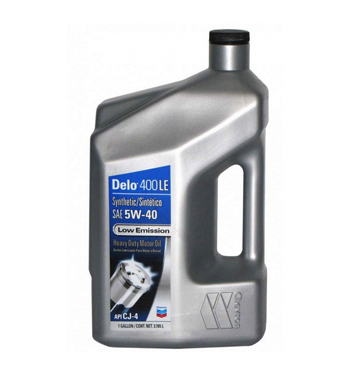 CHEVRON DELO LE 400 SYNTHETIC SAE 5W-40