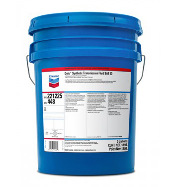 Chevron Delo Synthetic Transmission Fluid SAE 50