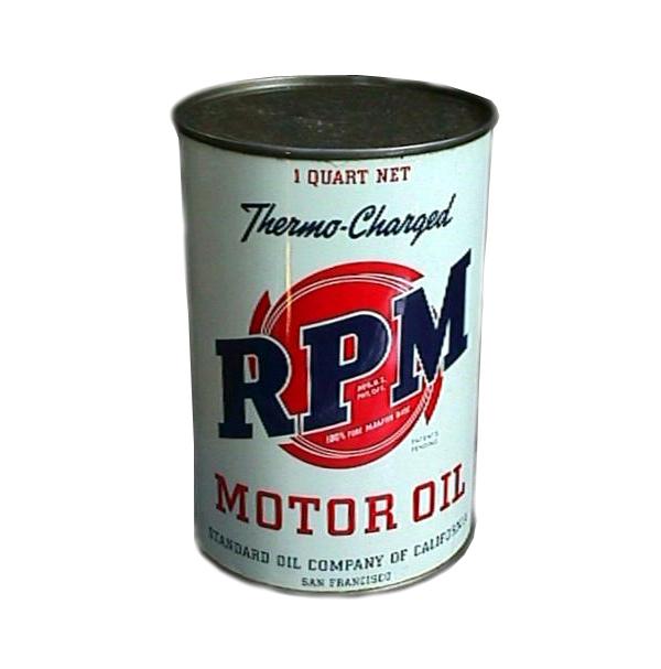 Моторное масло RMP, Standard Oil, 1935 г.
