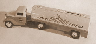 Бензин Chevron Supreme, 1930г.