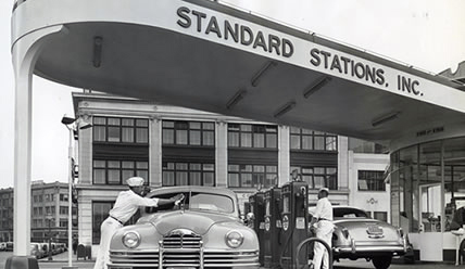 АЗС Standard Stations Oil INC., 1930 г.