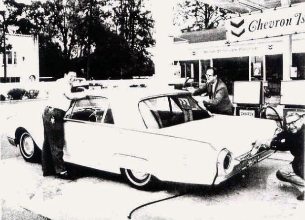 Ребрендинг KYSO на Chevron, 1970 г.