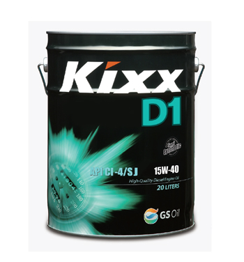 Kixx D1 15W-40