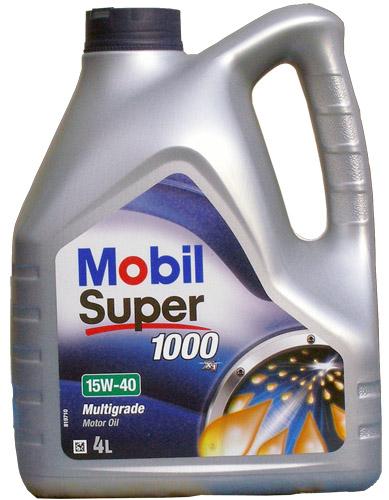 Mobil Super 1000 X1 15w-40