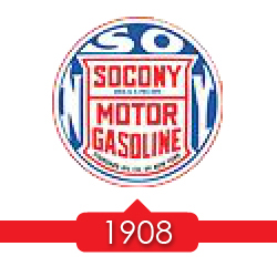 1908 г. - основан бренд SOCONY.