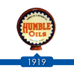1919 г. - SOCONJ (Standard Oil Company of New Jersey) покупает 50% акций в Humble Oil & Refining.