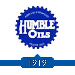 1919 г. - SOCONJ (Standard Oil Company of New Jersey) покупает 50% акций в Humble Oil & Refining.