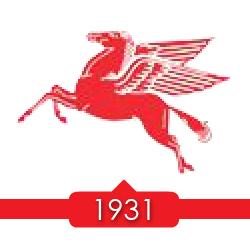 1931 г. - Socony регистрирует торговую марку Pegasus.