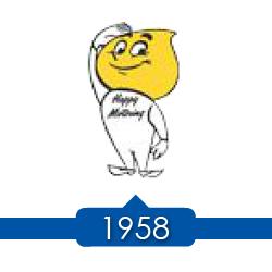 1958 г. - Jersey Standard регистрирует торговую марку Happy.