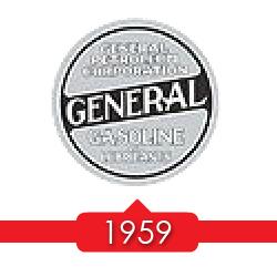 1959 г. - дочерни компании Magnolia, Gilmore и General Petroleum реструктуризируются в Socony Mobil Oil.