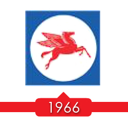 1966 г. - компания Socony Mobil Oil изменяет свое название на Mobil Oil Corporation.