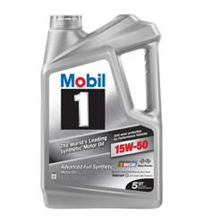 Mobil 1 Synthetic 15W-50
