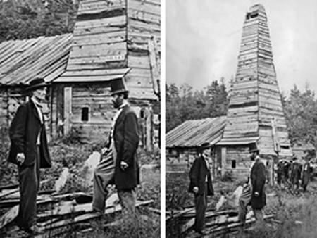 Первая успешная нефтяная скважина, Эдвин Дрейк и «дядя Билли», 1859 г.