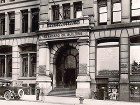 Штаб-квартира треста «Стандард Ойл», Нью-Йорк, 1885 г.