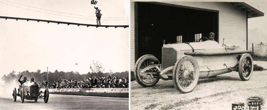 Ральф де Пальма, победитель автогонок «Индианаполис 500», 1915 г.