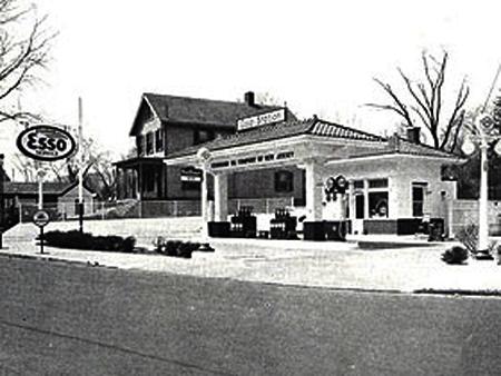 Автозаправочная станция «Эссо», 1926 г.