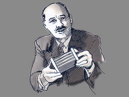 Французским ученым Эженом П. Гудри и его изобретение глинистым катализатор для крекинга.
