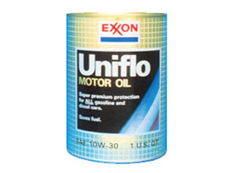 Uniflo, первое всесезонное масло «Джерси Стандард», 1952 г.