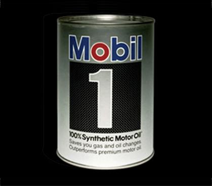 «Мобил» выпускает синтетическое моторное масло Mobil 1.