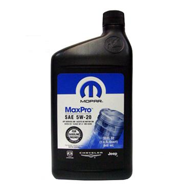 Mopar Motor Oil 5W-20