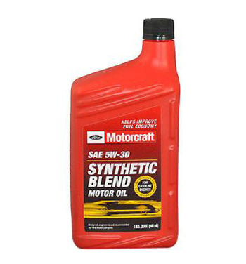 Motorcraft ford motorcraft motor oil 5w 30 for 5 30 motor oil