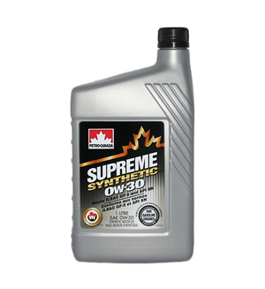 Petro-Canada Supreme Synthetic 0W-30
