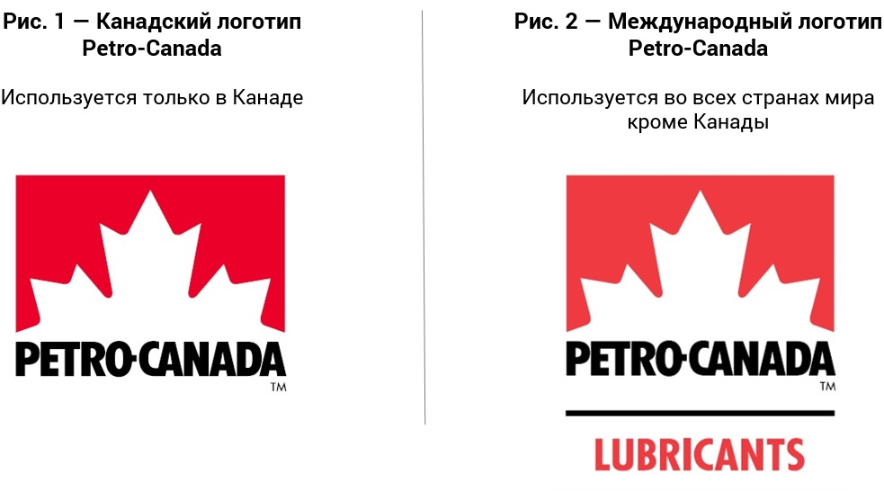 Новый международный логотип Petro-Canada