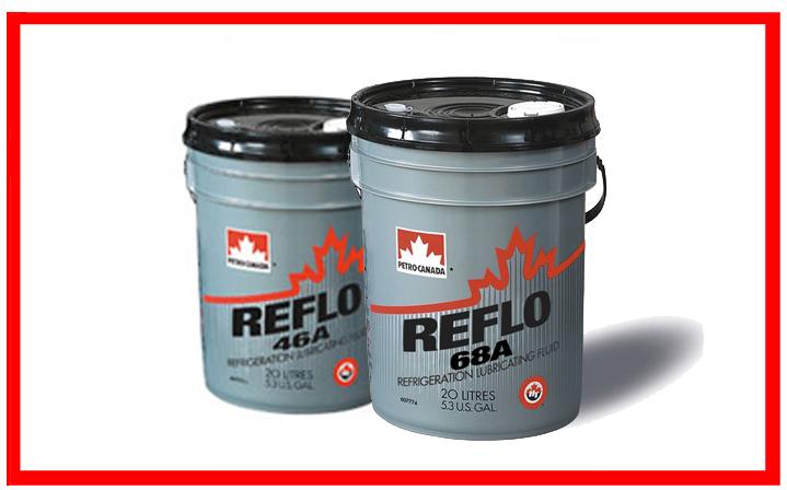 Petro-Canada: Reflo 46A, Reflo 68A.