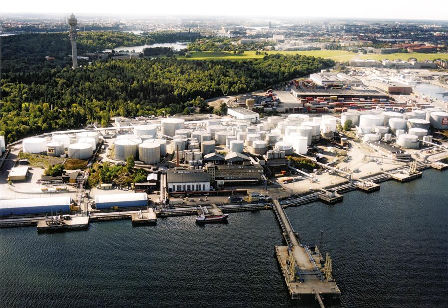 НПЗ KPIL OK-Q8 в Швеции.