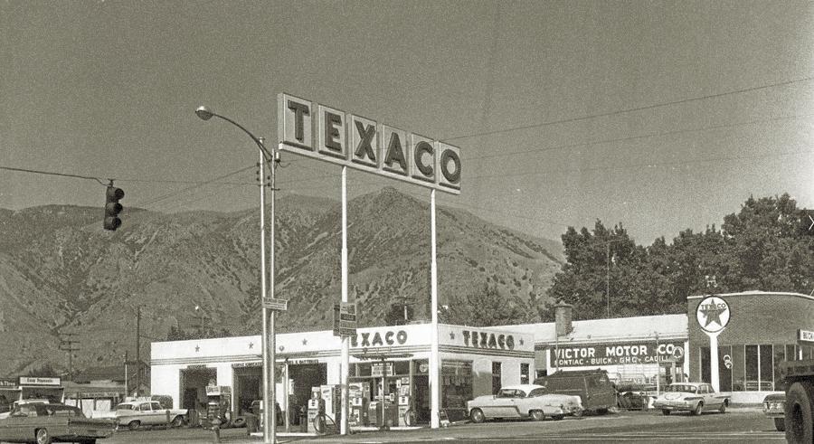 СТО Texaco, 1969 г.