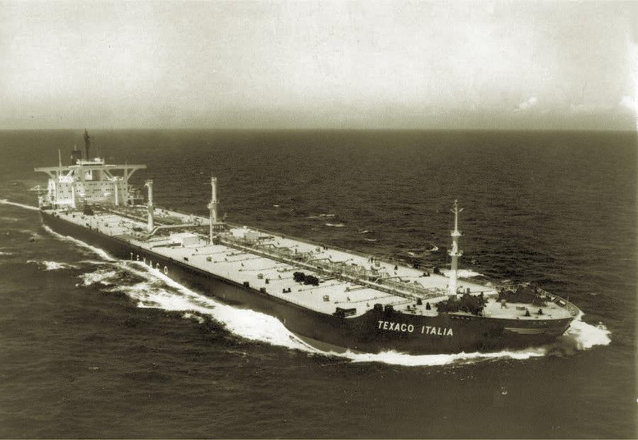 Танкер Texaco Italia, 1974 г.
