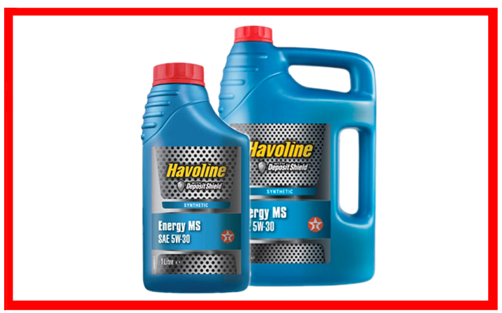 Texaco Havoline Energy MS 5W-30