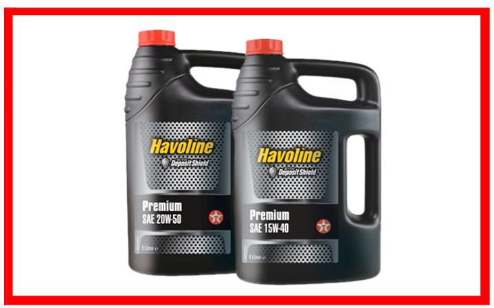Texaco Premium 15W-40, 20W-50