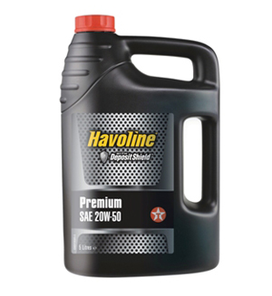 Texaco Havoline Premium 20W-50