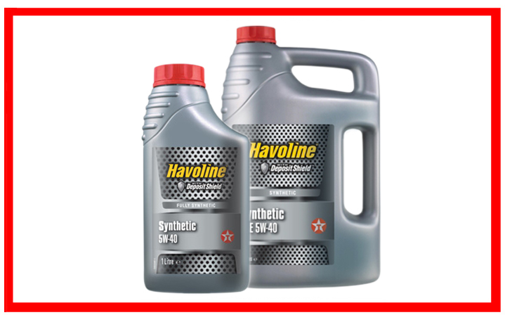 Texaco Havoline Synthetic 5W-40