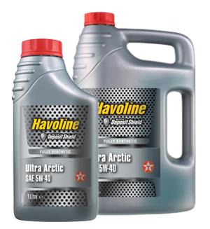 Texaco Havoline Ultra Arctic 5W-40