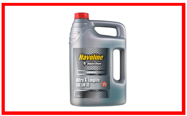 Texaco Havoline Ultra G Longlife 5W-30